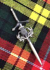 Scottish Thistle Kilt Pin/Scottish Heritage Kilt Pin Antiqu Finish/Kilt Pin/pins