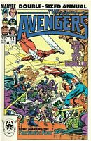 AVENGERS #14   1985 FRONT AND BACK PICTURES