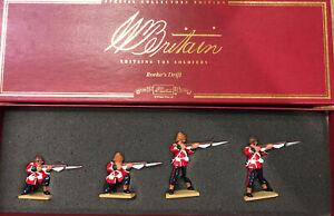 Britains: Boxed Set 00145 -24th Foot, Zulu War 1879. 54mm Metal Models