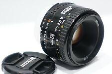 Nikon Nikkor AF 50mm 1:1.8 lens m/i Japan, fits D600 D7100 Df D800 D7200 camera