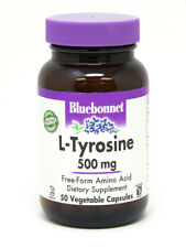 L-Tyrosine 500mg Bluebonnet 50 VegCaps