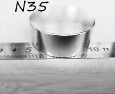 ZLCT179 1pc N35 50mm x 20mm Round Neodymium Permanent Magnets  NEW