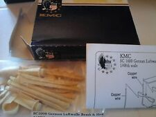 GERMAN LUFTWAFFE BOMBS SC1000 & SLEDS 1/48 SCALE KMC ACCESSORIES RESIN+PHOTOETCH