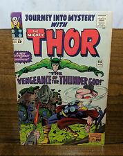 JOURNEY INTO MYSTERY 115,116 (1965) Lee Kirby THOR Origin Loki Absorbing Man KEY