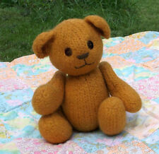 Knit and Felt Teddy Bear Knitting Pattern - Knitty Kritter