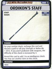 Pathfinder Adventure Card Game - 1x Ordikon's Staff - Sins of the Saviors