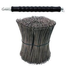 Trapano Driller Chiusura borsa filo Chiusura fil di ferro + 1000 Cavi 100 mm