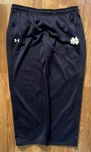 Notre Dame Football Team Issued Under Armour Pants Size 2xl