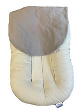 Snuggle Me Organic Infant Lounger With Gray Cover