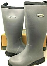 NEW! Muck Boot Women's Breezy Tall Insulated Rain Boots Grey Size:5 i23 a
