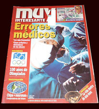 OLYMPIC GAMES 100 Years - Athens 1896 Atlanta 1996 - Muy Interesante Magazine