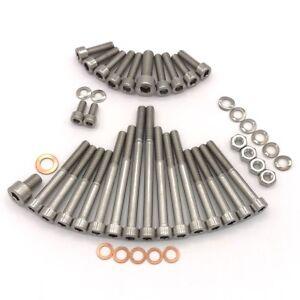 MZ RT 125/3 Motor Zylinderschrauben mit Innensechskant aus Edelstahl 46 teilig