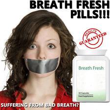 Aliento fresco mal aliento Pastillas Tabletas mejorar la higiene bucal eliminar las bacterias