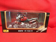 1:10 Scale Maisto Special Edition BMW R 100 R Motorcycle Red