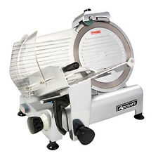 "Adcraft 300ES-12 Manual Angle/Gravity Feed Meat Slicer W/ 12"" Diameter Knife"
