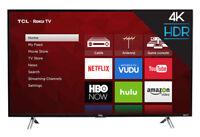 "TCL 43S405 43"" 2160p 4K LED Roku Smart TV"
