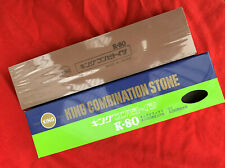 King 250/1000 Grit Whetstone Japanese Waterstone Knife Sharpening Stone - K-80