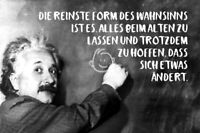 Albert Einstein Tabla Dicho 11 Letrero de Metal Arqueado Cartel Lata 20 X 30CM