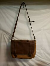 Vintage Leather Messenger Bag Laptop Briefcase
