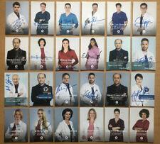 24 AK ARD IaF - Die jungen Ärzte Autogrammkarten original handsigniert