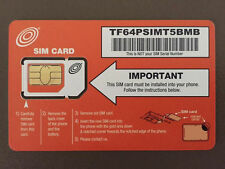 100 Net10 Dual Sim Cards / T-Mobile Network /