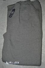 Pantalone FELPA uomo TAGLIE FORTI Taglie 3XL 4XL 5XL 6XL tuta invernale grigio m