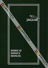 FACTORY WORKSHOP SERVICE REPAIR MANUAL SERIES 3 JAGUAR XJ6 XJ12 1979-1987