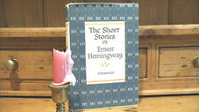 ERNEST HEMINGWAY THE SHORT STORIES~HARDCOVER/DJ~G-5.62[MH] 7th PRINTING~FREE SHP