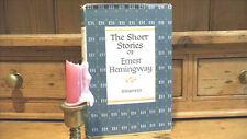 ERNEST HEMINGWAY THE SHORT STORIES~HARDCOVER/DJ~G-5.62[MH] 7th PRINTING~FREE SHP