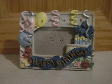"Happy Birthday Picture Frame 1 3/4"" x 2 3/4"""
