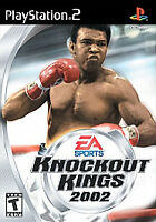 Knockout Kings 2002 (PlayStation 2, PS2 2002) CIB. Mint. See Description