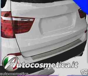 BATTIVALIGIA PARAURTI PROFILO CORNICE ANTIGRAFFIO ACCIAIO  BMW X3 F25 dal 2010