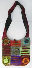 R366 New Trendy & Artistic Shoulder Drop Cotton Bag Hand Made in Nepal