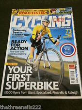 CYCLING PLUS - YOUR FIRST SUPERBIKE - MAY 2008