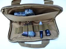 Acid Tactical® Pistol Gun Range bag concealed Carry Pouch for Hand Guns FREESHIP