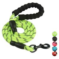 PETnSport 5FT Heavy Duty Training Dog Leash Soft Padded Handle for Med/Large Dog