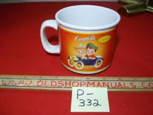 VINTAGE 2003 CAMPBELL'S 1904-2004 CAMPBELL'S KIDS 100 YEARS ANNIVERSARY SOUP MUG
