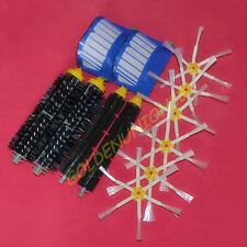 Beater bristle 6 arm side brush filter for iRobot Roomba Aerovac 600 series 650