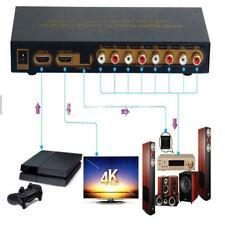 HDMI to Digital Audio 7.1Analog Converter Separat Amplifie HDMI Input RCA Output