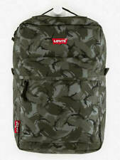 LEVI'S® L PACK BACKPACK CAMOUFLAGE GREEN RUNNING HIKING TRAVELING UNISEX