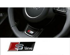 S Line Steering Wheel Sticker Decal Emblem Fits All Audi Models Red/White
