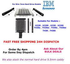 X220.T420s.HDD.Caddy.Lenovo.IBM.Thinkpad.7mm.Hard Drive.Models.BRAND NEW KIT.