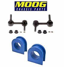GMC Isuzu Pair Set of Front Left & Right Sway Bar End Links & Bar Bushings Moog