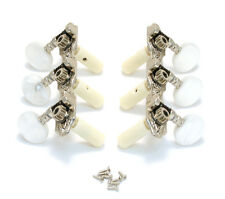 Grover Deluxe Nickel Strip 3x3 Horizontal Tuners for Classical Guitar 306N