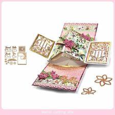 Anniversary Pop Up Cards Romantic Greeting Gift Card Wedding Valentine Postcards