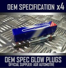 4 x OEM DIESEL GLOW PLUGS FGP654 FOR CADILLAC BLS 1.9 2006-