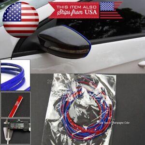 """108"""" Blue Molding Stripe Trim Line For  Mazda Subaru Console Dashboard Grill"""