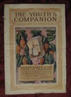 YOUTH'S COMPANION Magazine October 20 1910 C A STEPHENS FRANKLIN WELLES CALKINS