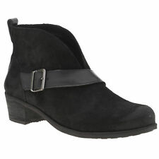 Ugg Australia Black Wright Belted Boots RRP£150 UK5.5 EU38 JS20 21 SALE