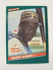 1986 Donruss The Rookies Barry Bonds Rc #11